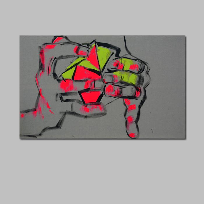 XY  ankamierzejewska Inteligenca jest sexi 190-120 cm Anka Mierzejewska obrazy sztuka malarstwo