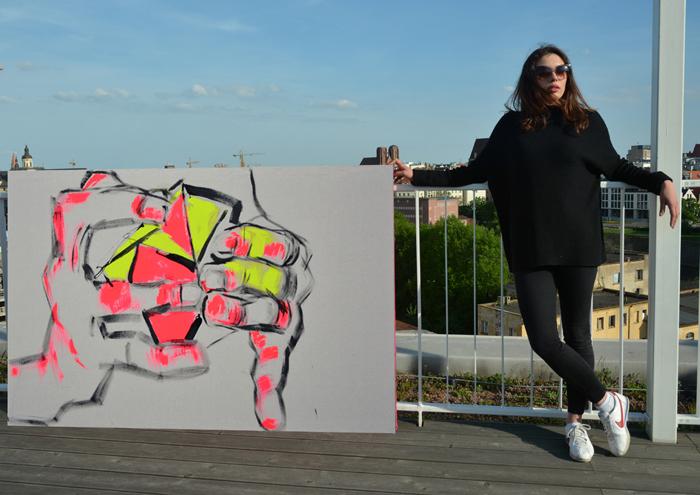 XY anka mierzejewska Inteligencja jest sexi  Wroclaw malarstwo sztuka obrazy