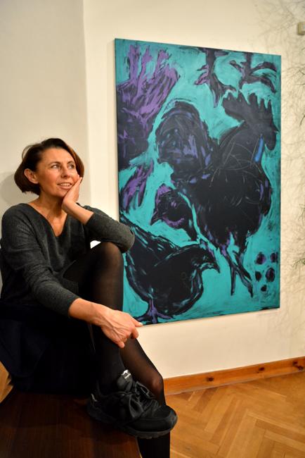 XY ankamierzejewska  build relationship with other sucessfull people  obrazy obraz malarstwo sztuka190-120 cm