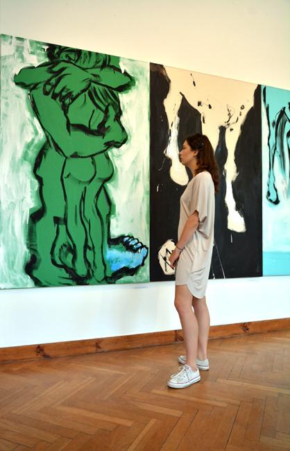XY bez slow 190-120 cm malarstwo sztuka obrazy