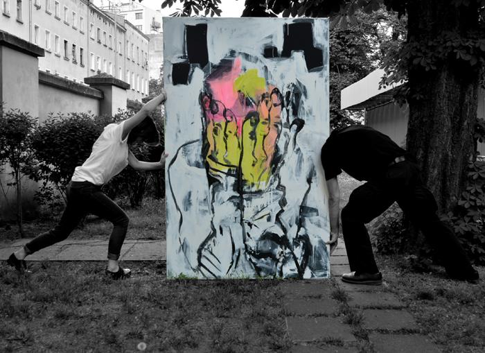 XY ankamierzejewska czlowiek myslacy nie myslacy malarstwo obrazy sztuka polska wroclaw