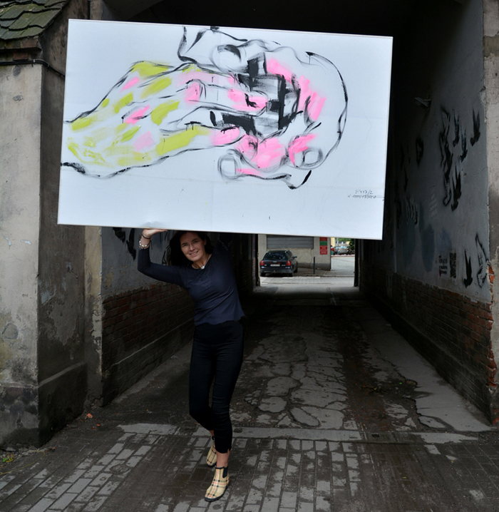 XY anka mierzejewska wystawa malarstwo sztuka obrazy kosta rubika 2018