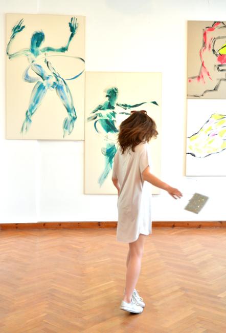 XY Less Is More 190-120 cm malarstwo sztuka obrazy anka mierzejewska