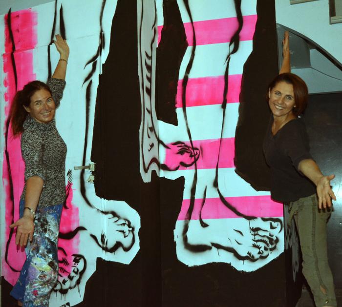malarstwo sztuka obrazy art fineart contemporaryart XY anka mierzejewska mural Wroclaw
