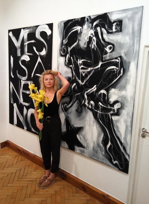 XY ankamierzejewska paintings Joker  Stanczyk akcent krakowski z Marta Dzy