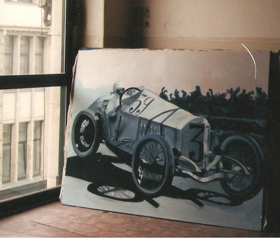 anka mierzejewska retro auto sport