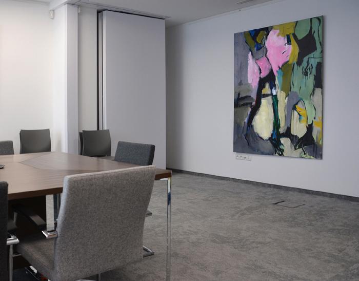 XY Prince 190-140 cm w sali konferencyjnej Kancelarii Schampera, Dubis, Zając i Wspólnicy