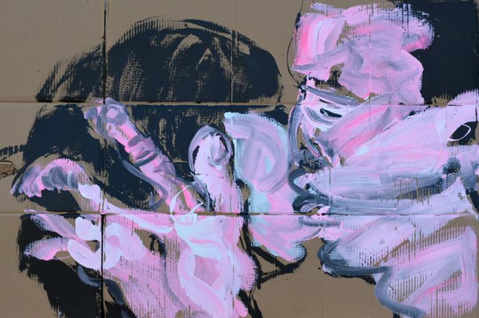 XY kiss 4 88-140 cm  v7 XY anka mierzejewska malarstwo fineart