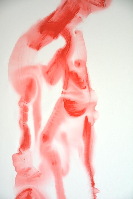 Abramovic Ulay detal imponderabilia  anka mierzejewska malarstwo sztuka paintings  fineart perforamnce