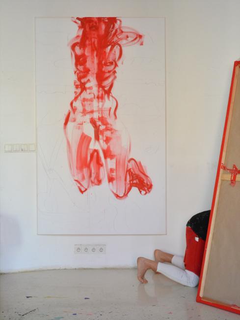 XY Marina 190-120 cm anka mierzejewska #marinaabramovic @marinaabramovic paintings fineart artcontemporain modernart obrazy malarstwo sztuka