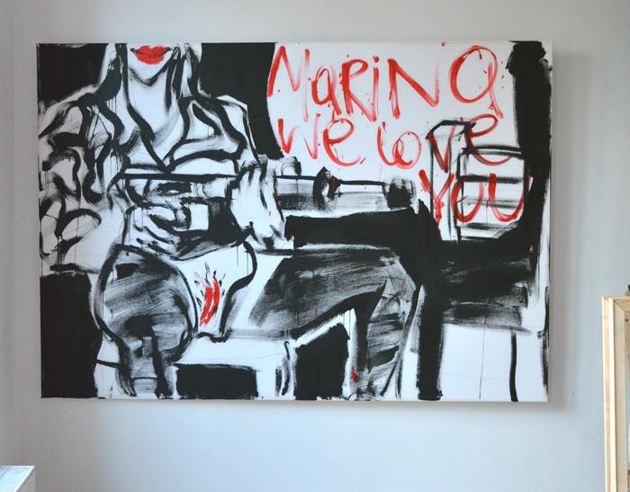 XY Marina welcome 140-190 cm #MarinaAbramovic @MarinaAbramovic malarstwo sztuka artcontemporain moma paintings fineart modernart conceptualism
