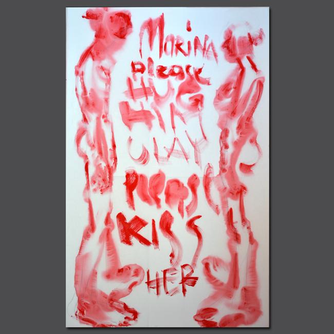 XY Ulay Marina 190-120 cm #marinaabramovic #abramovic #ulay #painting #fineart #performace #art #contemporaryart