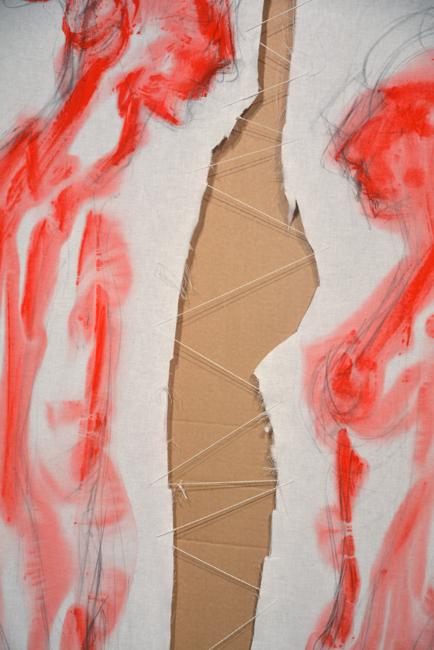 XY  Marina Ulay 190-120 cm #mierzejewska #malarstwo #sztuka #fineart #artcontemporain #painting #marinaabramovic