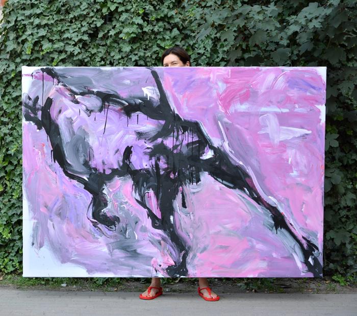 #fineart #artcontemporain #contemporarypainting #painting #ankamierzejewska #xyankamierzejewska