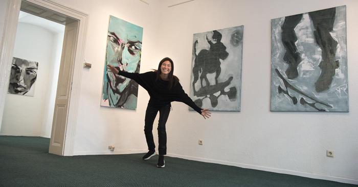 #xyankamierzejewska #exhibition #kunst #paintings #contemporaryart #wiesbaden #Garmany
