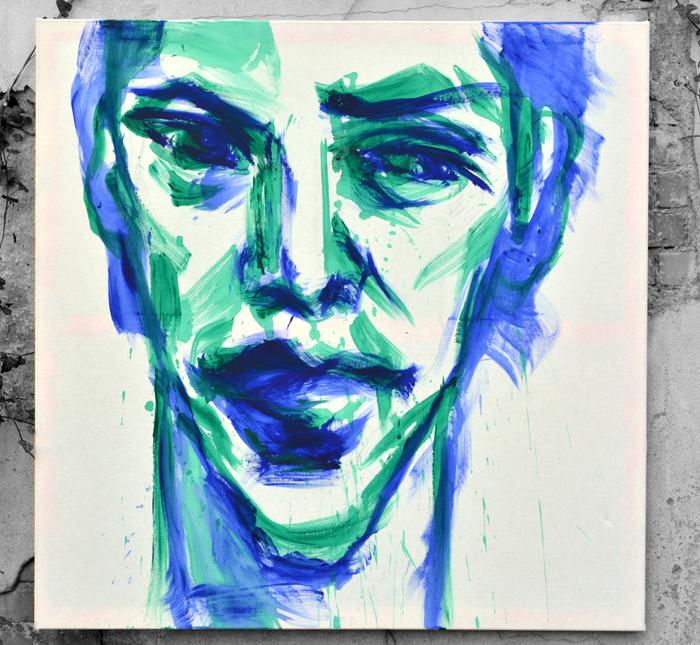 #buy #sell #Contemporaryart #malarstwo #obrazy #kupic  #cena boysface #Keanu #kunst #portrait
