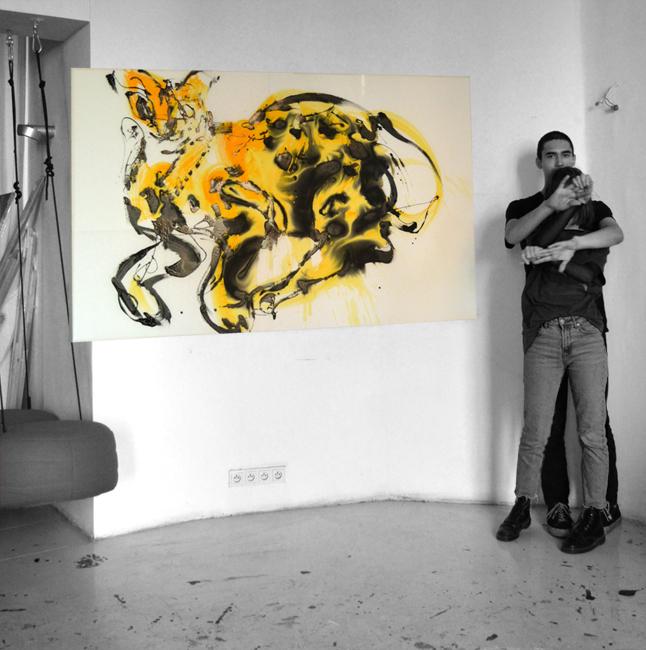 #cat #keanu #art #contemporary #paintings #artist #xy #anka #mierzejewska #kusnt #bird #malarstwo #sztuka #obrazy #wroclaw #buyart