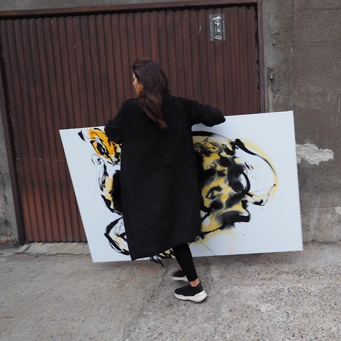 #keanu #art #contemporary #paintings #artist #xy #anka #mierzejewska #kusnt #bird #malarstwo #sztuka #obrazy