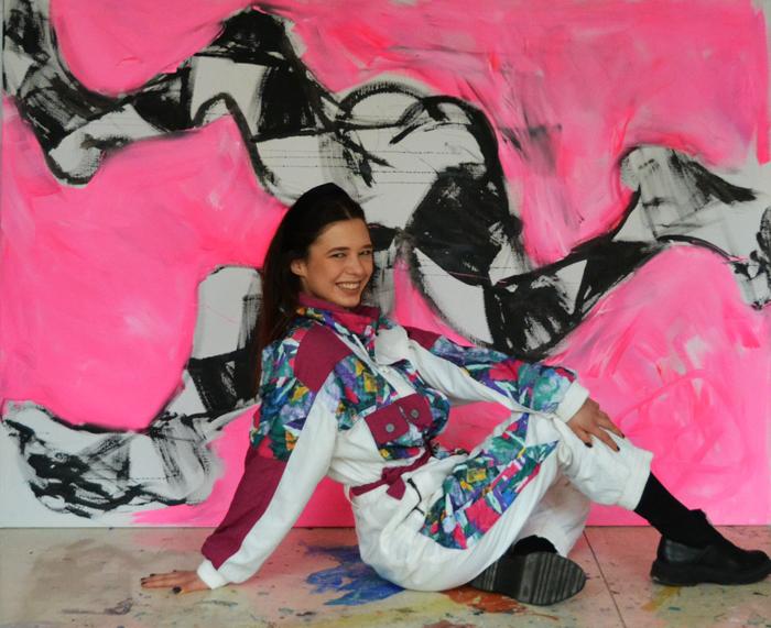 #xy #anka #mierzejewska #pink #painting #contemporary #art #obrazy #cybulskiego #wroclaw #galeria #sztuki #kunst #kunst #kupie #studio #artist