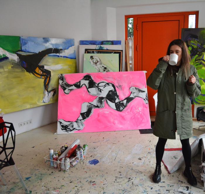 #xy @anka #mierzejewska #acrobat #akrobata #contemporary #painting #art #kunst #pracowania #wroclaw #cybulskiego #malarstwo #sztuka #wspolczesna #kupie