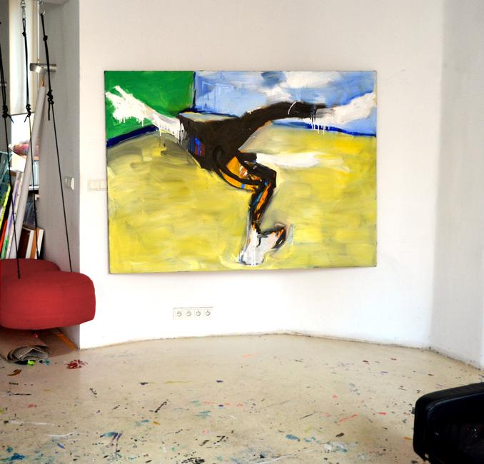 #xy #art #anka #mierzejewska #malarstwo #sztuka #painting #kunst #expresionism #acrobat #contemporary