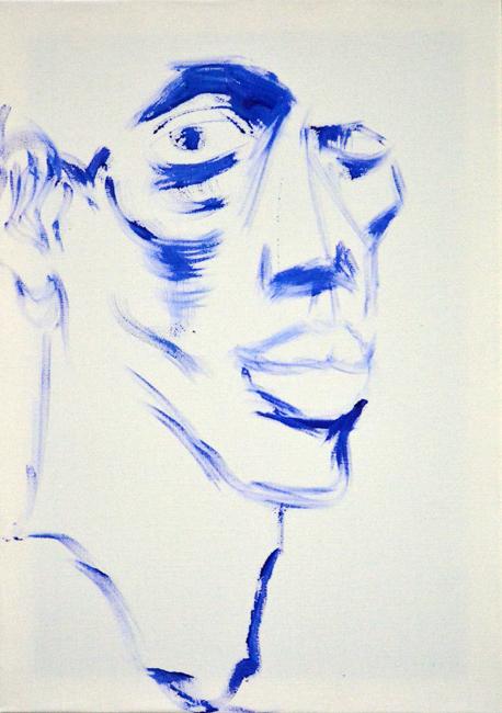 #blue #boy #xy #galeriewroclaw #galeriasztuki #anka #cybulskiego #wroclaw #galeriasztuki #mierzejewska #atgallery #malarstwo #sztuka #mierzejewski #paintings