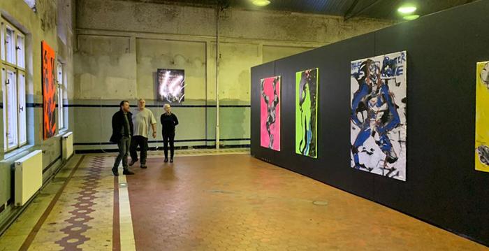 #neoex #wystawa #Ostrawa #exhibition #Czechy #galeria #sztuki #acrobat #akrobata #pracownia #artysta #wroclaw #obrazy #kupie