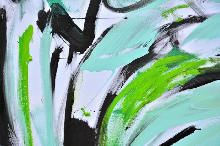 #mint #mietowy #contemporary #paintings #art #kunst #bild #obrazy #malarstwo #sztuka #kupie #anka #mierzejewska #xy #pracownia #wroclaw #kwiaty
