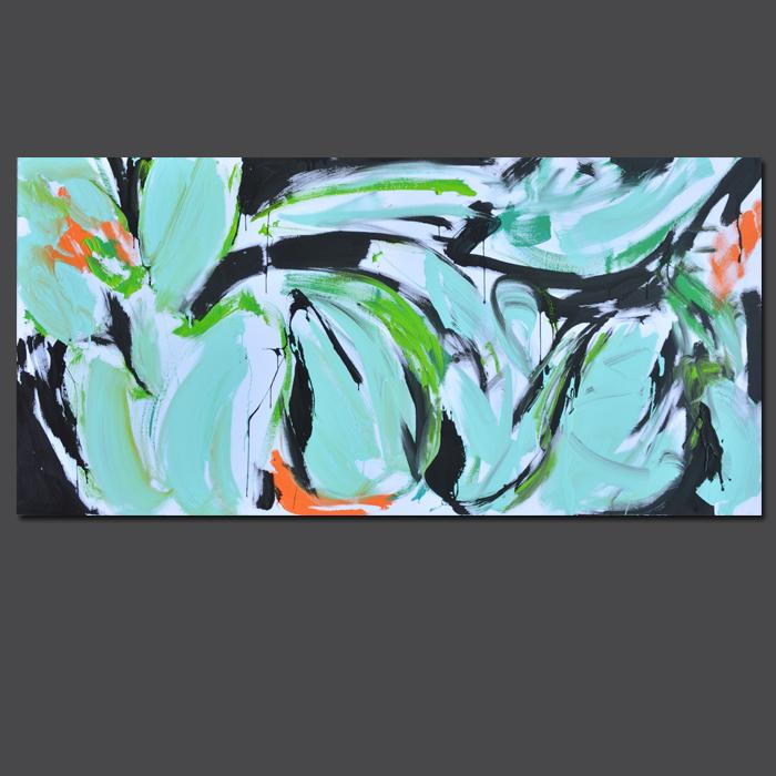 #mint #mietowy #flowers #xy #anka #mierzejewska #contemporary #art #paintings #artist #artiststudio #kunst #bild #kupie #obrazy #pracowania #wroclaw