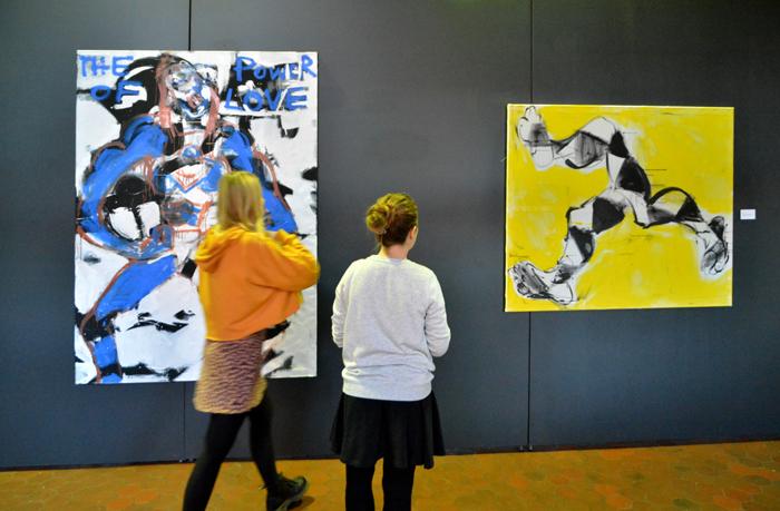 #anka #mierzejewska #pracownia #wernisaz #wystawa #exhibition #contemporary #paintings #opening #fot #XY #NEOEX #Galerie #Dolu #Michal #Ostrava #Czechy