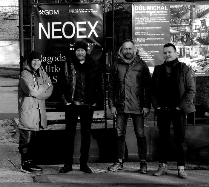 #fot #XY #NEOEX #Galerie #Dolu #Michal #Ostrava #Czechy #anka #mierzejewska #malarstwo #sztuka #contemporary#art #paintings #pracownia #wroclaw
