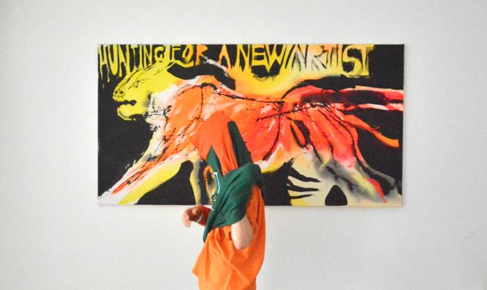 #xy #anka #mierzejewska #XYankamierzejewska #ankamierzejewska #paintings #art #contemporary #artist #kunst #sztuka #obrazy #malarstwo #tiger #hunting #huntingforanewartist