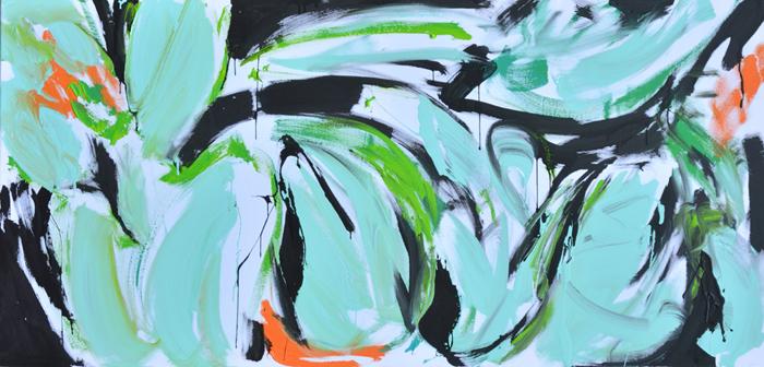 #xy #anka #mierzejewska #miami #art #contemporain #mint #mietowe #kwiaty #paintings #malarstwo #sztuka #obrazy #wroclaw #malarka #pracownia #eklektik #kunst #gemalde #kunstlerin