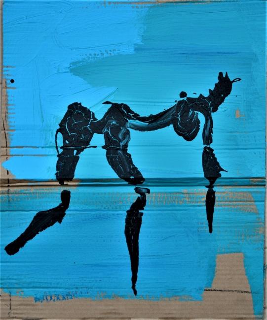 xy anka mierzejewska azure carboard hotel mond galerie berlin contemporary fine arts exhibition vernissage opening kunst gemalde
