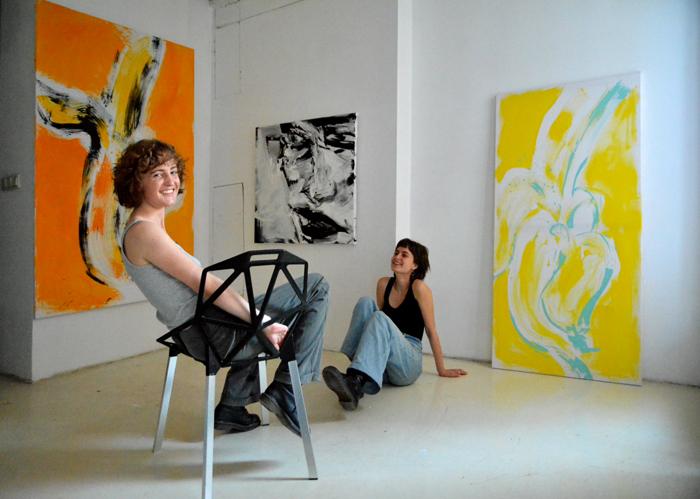 #contemporary #art #artist #kunstler #banana #artathome #artysta #artystka #pracownia #wroclaw #sztuka #wspolczesna #andy #warhol