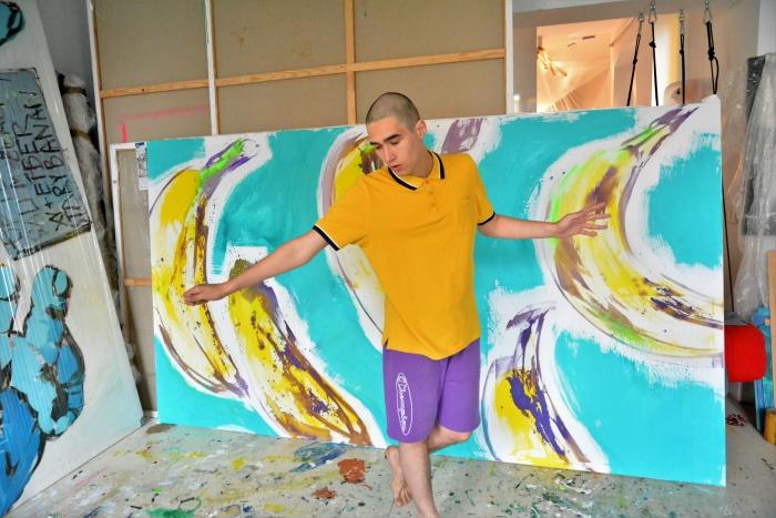 xy anka mierzejewska malarstwo sztuka obrazy kunst gemalde contemporary art artist banana andy young