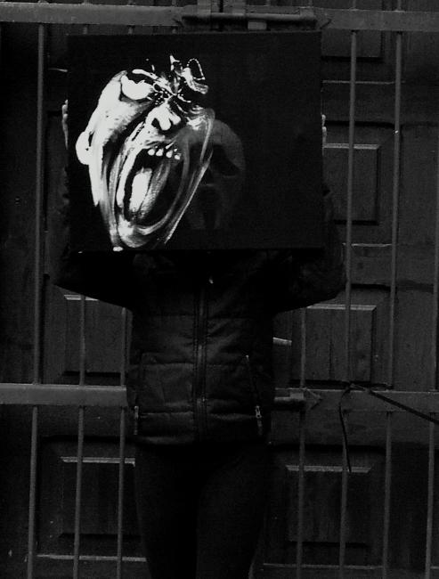 xy anka mierzejewska warsawgalleryweekend halloween keanu reaves contemporaryfinearts kunstberlin berlinkunst nyartist artistny artgalleryny