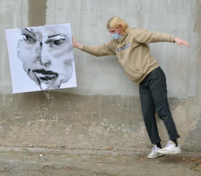 xy anka mierzejewska malarstwo sztuka contemporaryfinearts kunstberlin berlinkunst kuntlerberlin bild portrait warsawgalleryweekend
