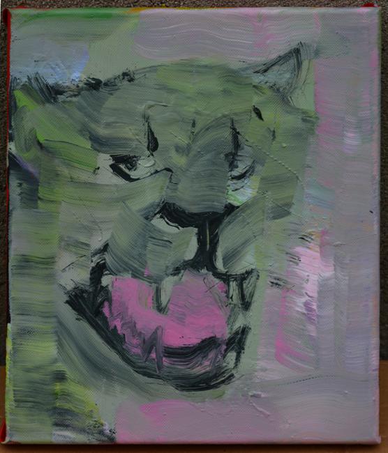 XY anka mierzejewska malarstwo sztuka obrazy contemporaryfinearts art contemporain kunst kunstler kotek kot portret artcollection