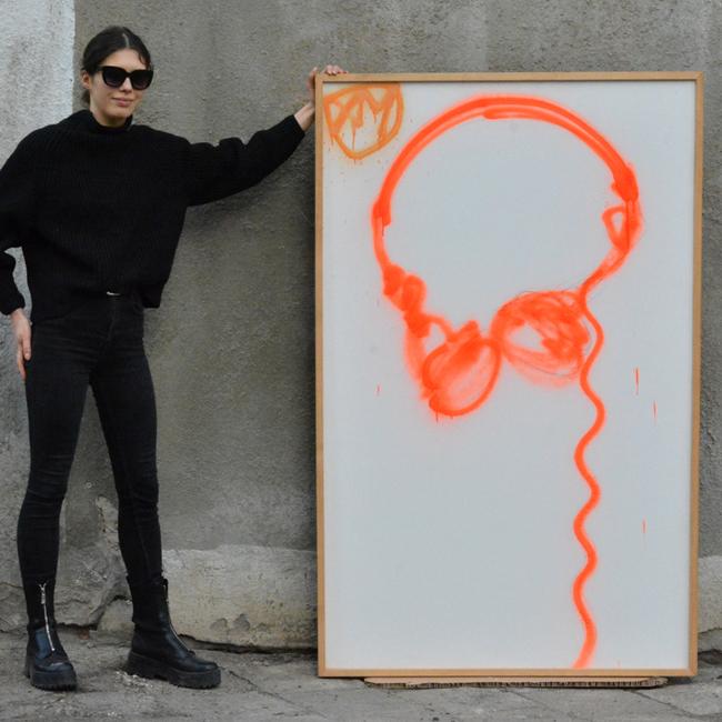 XY ankamierzejewska malarwstwo sztuka obrazy contemporaryfinearts warsawgalleryweekend brainwahing kunstler atelier wroclaw polen poland