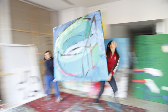 xy ankamierzejewska malarstwo sztuka wspolczesna contemporary finearts kunst kunstler atelier artist studio visit magnes