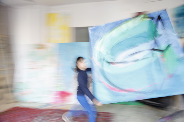 xy ankamierzejewska malarstwo sztuka wspolczesna contemporary finearts kunst kunstler atelier artist studio visit magnes warsawgalleryweekend artcollecting artcollection artcollector