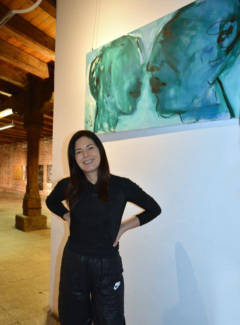XY malarstwo sztuka obrazy art contemporain studio visit artist kunstler atelier artcollecting artcollector