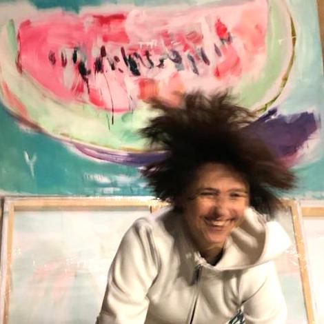 xy anka mierzejewska artist studio kunstler atelier visit malarstwo sztuka obrazy wspolczesna artathome artcollecting artcollector contemporary fine arts