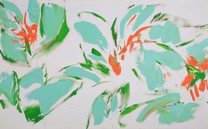 XY MIETOWE KWIATY 120-190 malarstwo sztuka obrazy contemporaryart designercrib colectorcriib interiordesign dobrewnetre finearts artcollecting artcollector artcollection sztuka wspolczesna