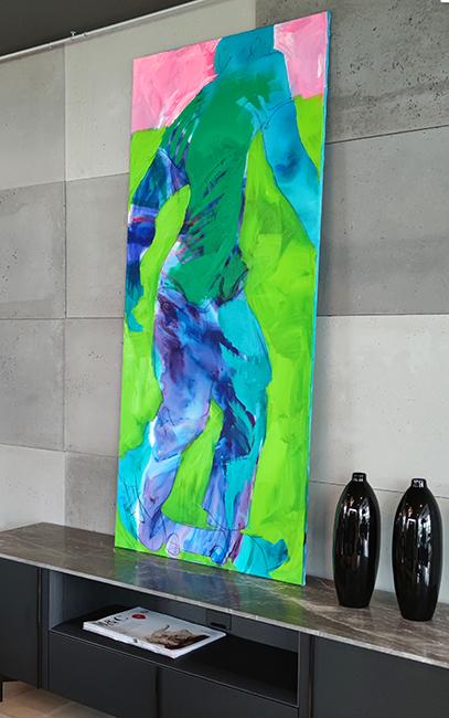xy anka mierzejewska malarstwo sztuka obrazy interior design painting kunst art