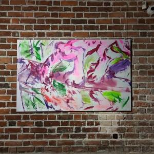 xy anka mierzejewska cat cats cheetah dzungla muzeum miejskie wroclawia contemporary art figurative art paintings  kunst malarstwo sztukawspolczesna